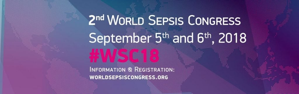2nd World Sepsis Conference Banner